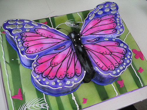 Butterfly Cake Wedding
