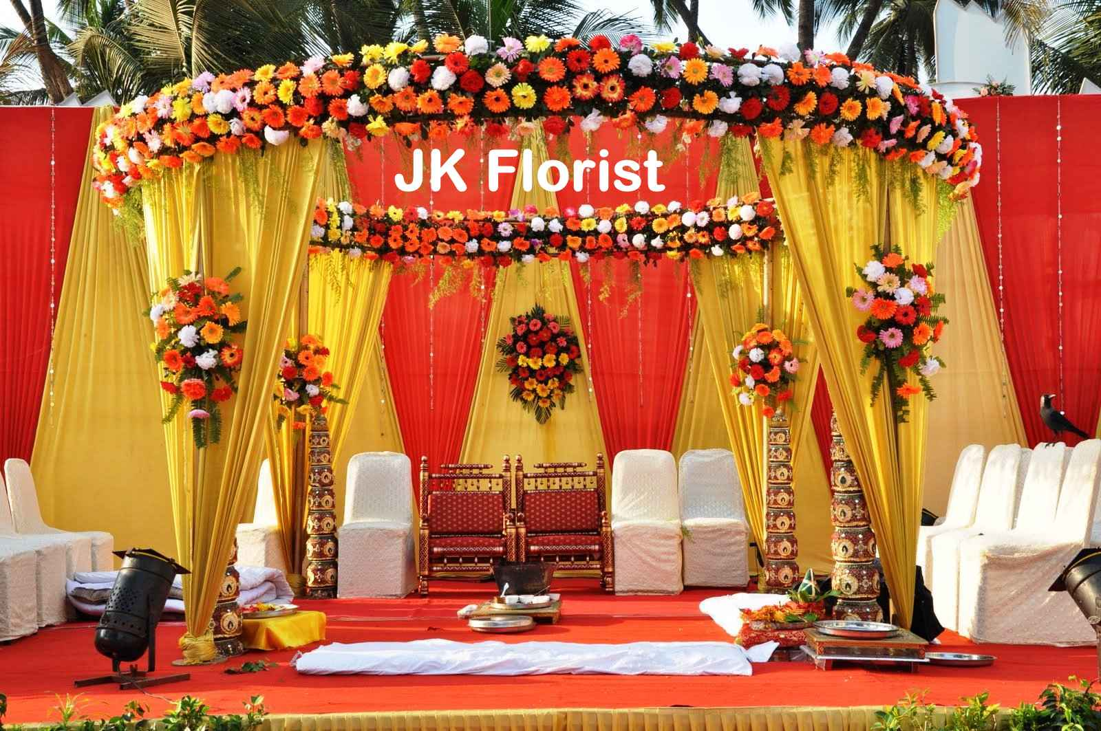 Flowers Decoration Services – J K Florist