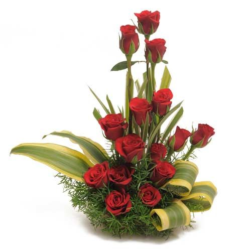 Red Roses Flower Arrangements