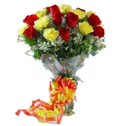 20 Mix Color Roses Bunch