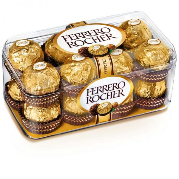 16 Pcs Ferrero Rocher Imported Swiss Chocolate Box