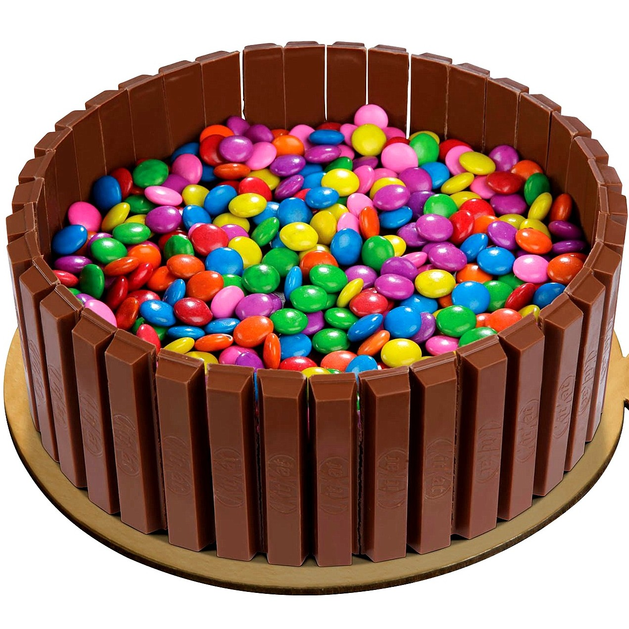 How To Make A Kit Kat Cake Video