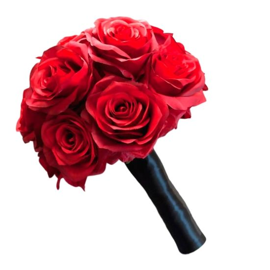 12 Red Roses with BLACK ROYAL, LUXURIOUS & UNIQUE PACKING