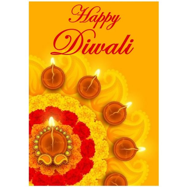 diwali greeting card delivery