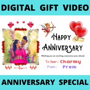 Digital Gift - Anniversary Video Product - JK Florist