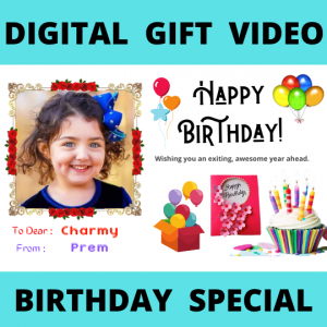 Digital Gift - Birthday Video Product - JK Florist